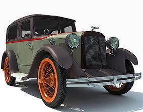 3D model WWII Austin Vehicle