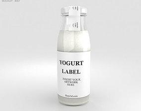 3D Yogurt Bottle