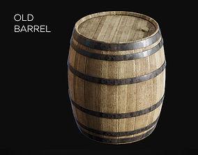 Old Barrel 3D