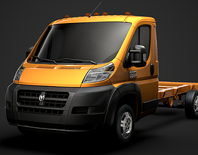 3D Ram Promaster Chassis Truck Single Cab 3800 WB 2019