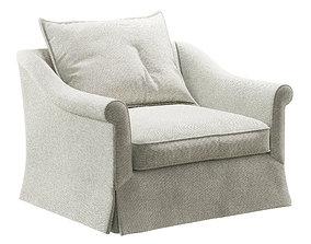 Villa R armchair 3D