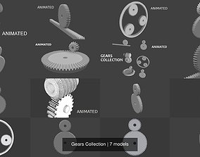 Gears Collection 3D