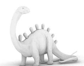 Dino Lamp 3D print model