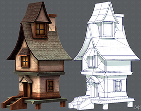 3D model House Cartoon V06