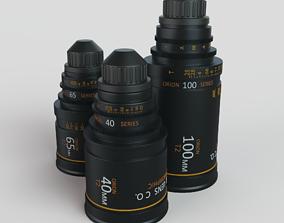 lens Camera Lenses 3D model