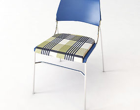 3D model Squared Chair