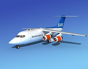 BAe 146-100 SAS 3D