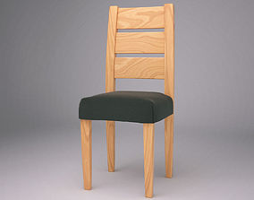 3D per-co Wooden Chair
