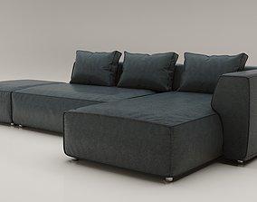 3D model Sofa Industrial Loft