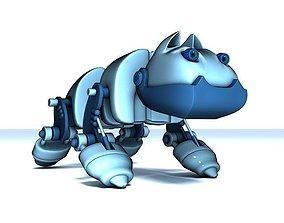 Robot-dog 3D model