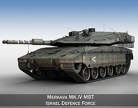 3D Merkava IV - Israel Defense Forces