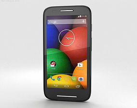 3D model Motorola Moto E White and Black
