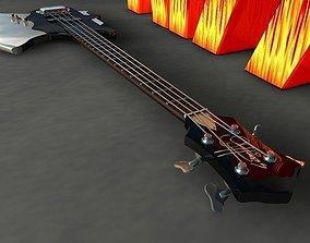 3D model Cort Gene Simmons Axe Bass