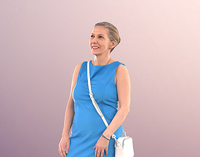 3D asset Best Ager Woman in Dress Outside - 11254 Bridget
