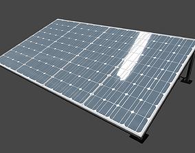 solar collector 12 3D model