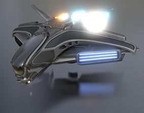 Intergalatic Spaceship 3D model