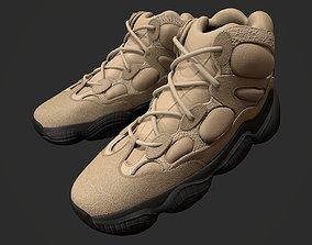3D asset Sneaker YEEZY 500 High - Shale Warm - Kanye 2