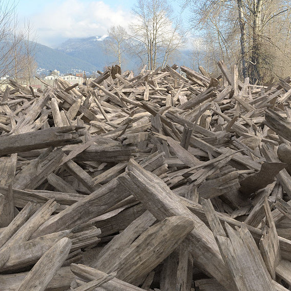 Wood, lots of wood!