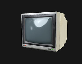 3D model CCTV Monitor 02