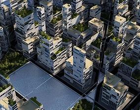 3D Future City A 4