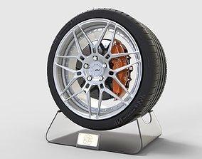 3D model ADV7 and Tire Michelin Pilot Super Sport