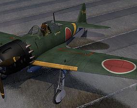 3D Mitsubishi A6M5 Zero