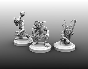 3D print model Tribal Goblin Bundle