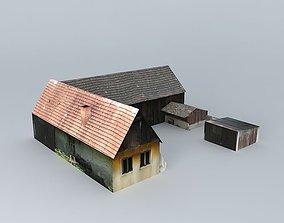 barn Dom 3D model
