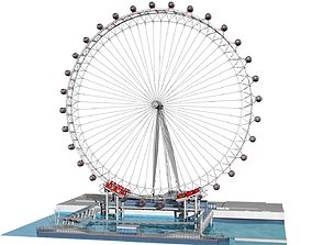 3D model eye London Eye