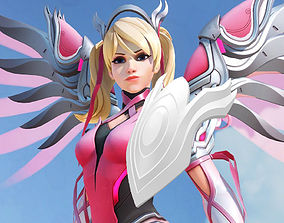 3D print model Overwatch Mercy Pink Hand Guard