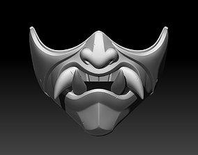 3D printable model Kitana mask for cosplay Mortal Kombat 2