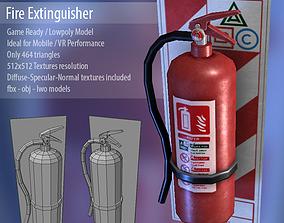 3D model realtime File Extinguisher