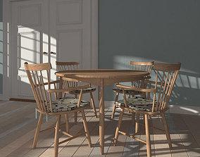 3D model table setting 22a