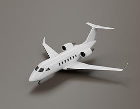 Bombardier Challenger 650 3D model