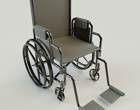 3D Simplistic Wheelchair