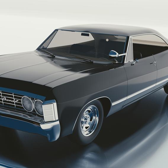 Impala 1967 Chevrolet Supernatural model