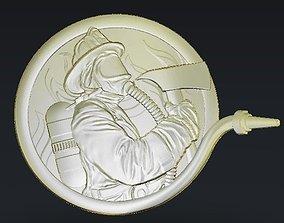 Sculpture coin 3D print model