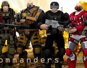 animated 3DRT - X-Commanders