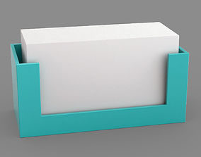 3D model Business card holder
