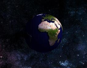 21k 3D model BUMPY PLANET EARTH