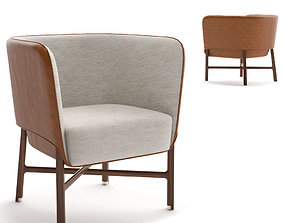 3D mobilier hermes Cabriolet chair