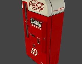 Coca Cola Vendo 81 vending machine PBR 3D asset