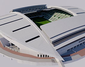 Kobe Misaki Stadium - Japan 3D model