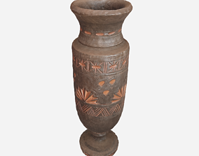 3D model Wooden vase