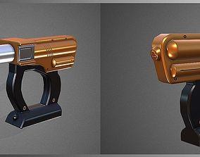 Silicone gun 3D asset