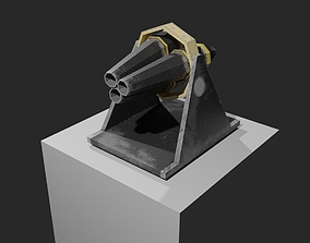Cannon pack 3D model