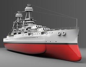 3D model Watercraft 1 - USS Arizona