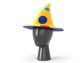 Clown Hat 06 3D model