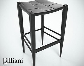 3D Billiani Vincent VG stool 445 black