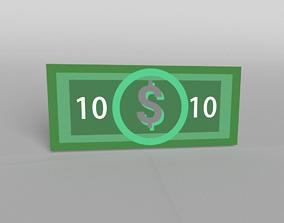 10 Dollar 3D model